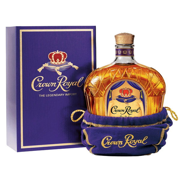 Crown Royal Canadian Whisky With Bag Amp Box 1l