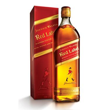 Johnnie Walker Red Scotch 1.14L