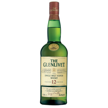 Glenlivet single Malt Highland Scotch 750ml