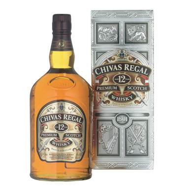 Chivas Regal 12 Years Scotch 750ml