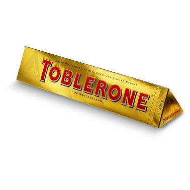 Toblerone Gold Bar 400g
