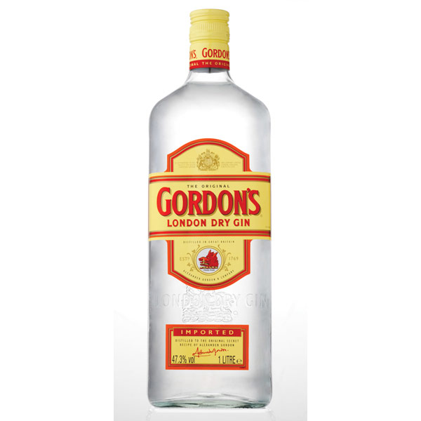 Gordon 39 s london dry gin for Best mix with gin