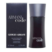 Giorgio Armani Armani Code Eau De Toilette Natural Spray 75ml
