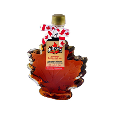 Maple Syrup in Maple Leaf Shaped Bottle 250ml